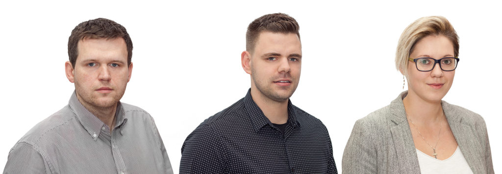 Jan Penkala, David Vurma a Petra Pacáková