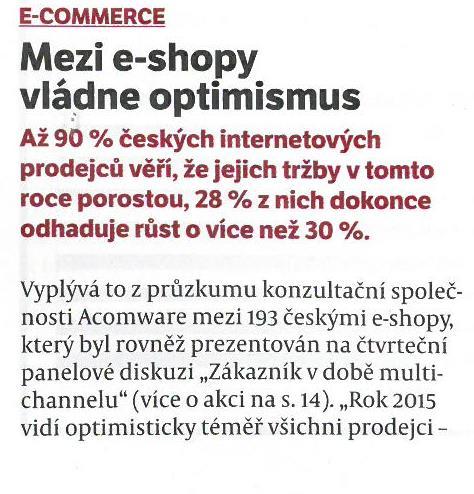 MSM-Mezi e-shopy vládne optimismus (1)