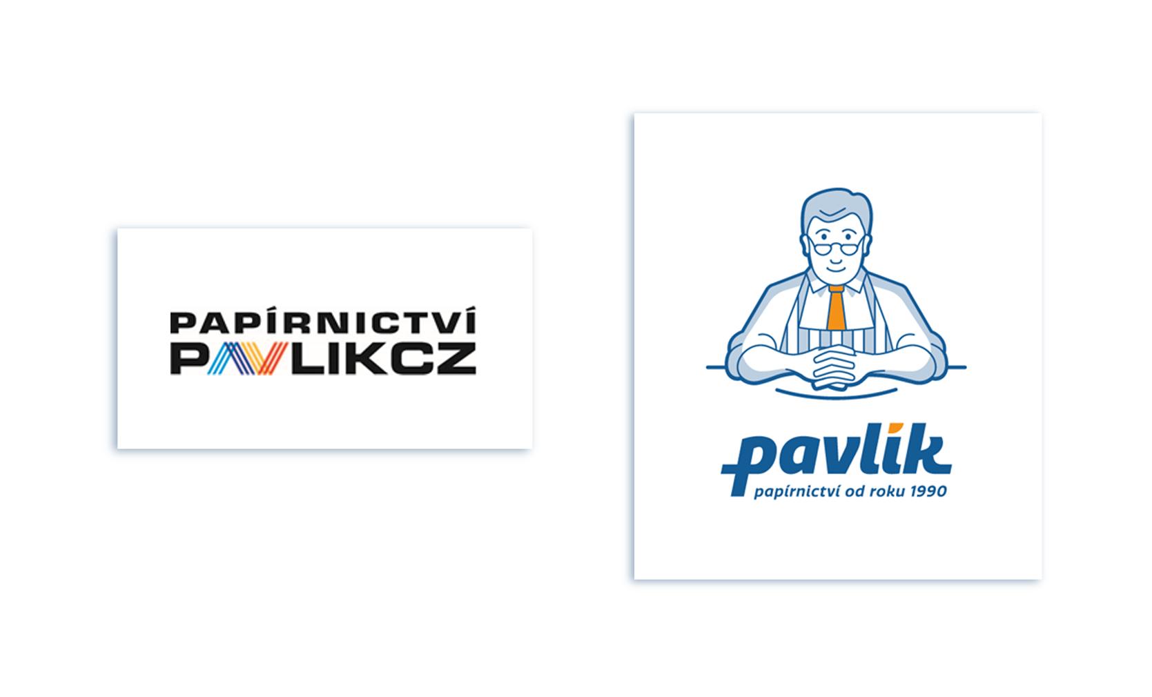 Vytvořili jsme nové logo a maskota s plnohodnotným manuálem (původní logo vlevo, nové vpravo)